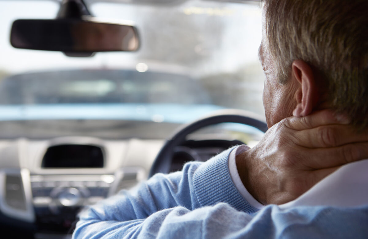 Whiplash is one of the most common neck injuries after a car accident.