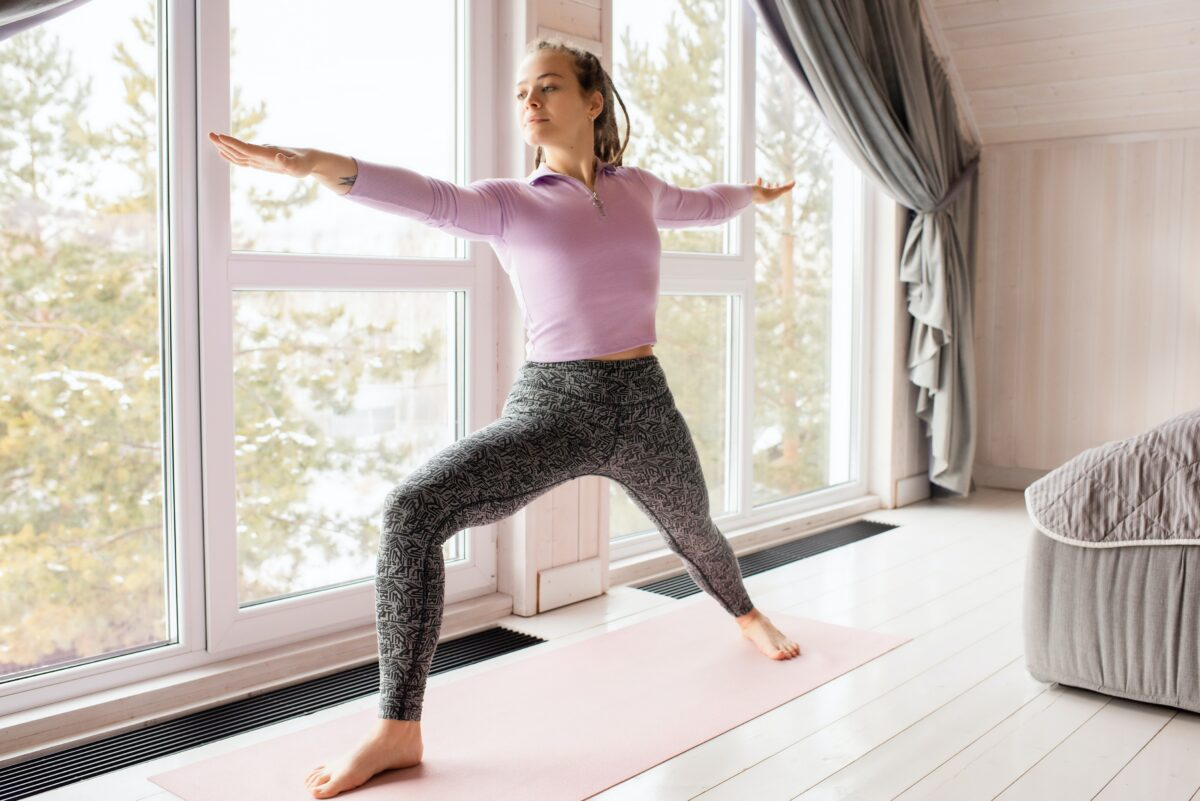 Yoga is a great way to reduce back pain