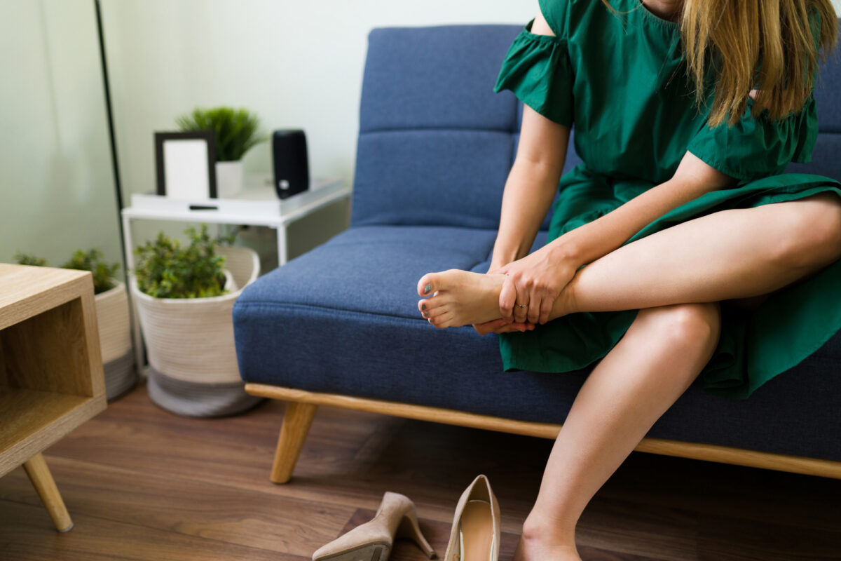 Foot pain isn't the only issue that stems from high heels.